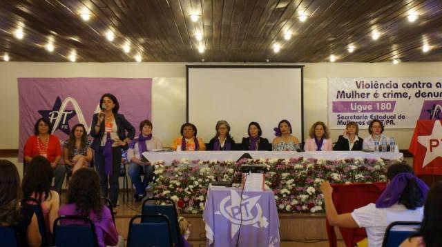Mesa de compromisso das temáticas das mulheres